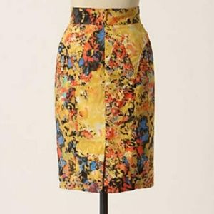 Tracy Reese Anthropologie Gainsborough Skirt